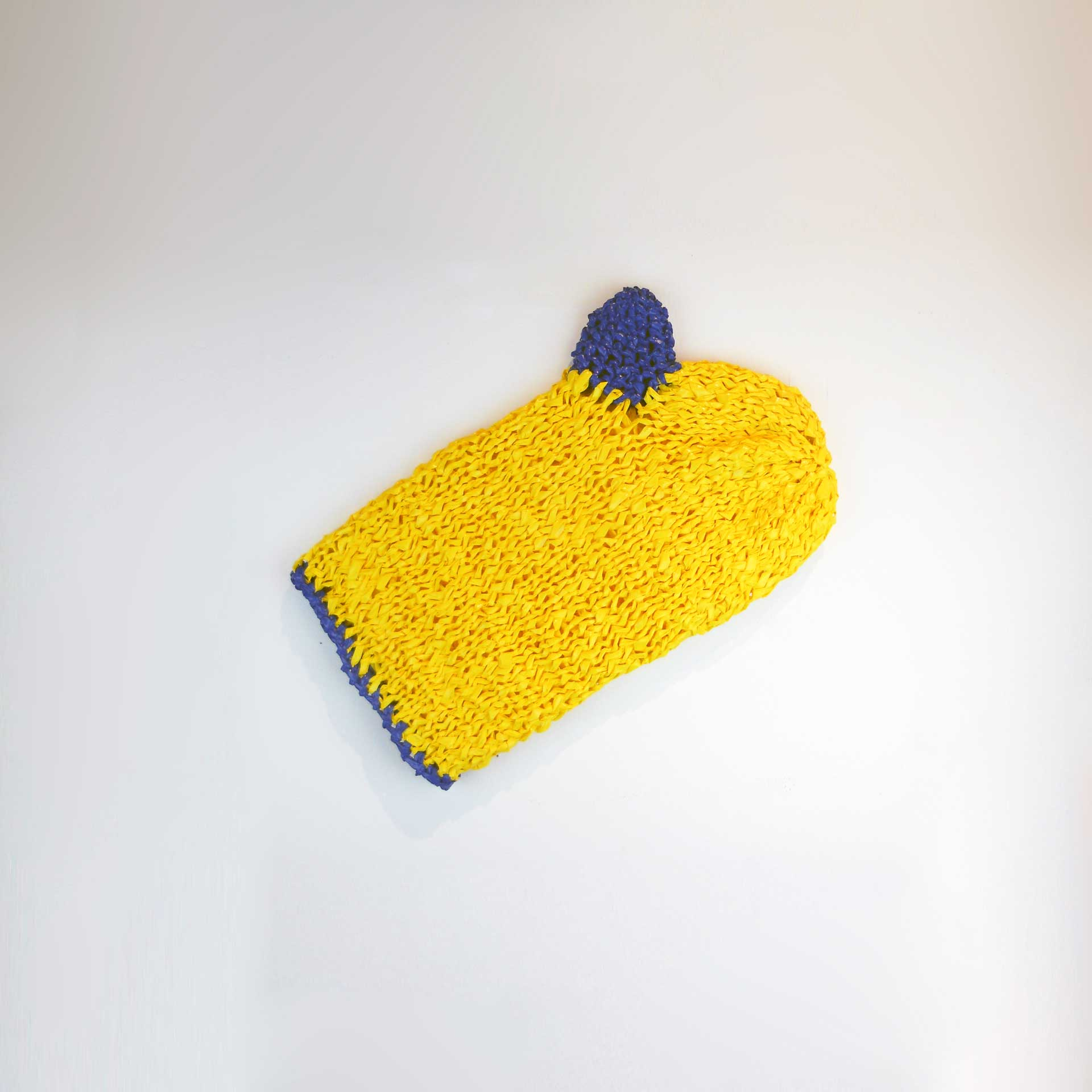 Canary Yellow Mitt by Darlyn Susan Yee